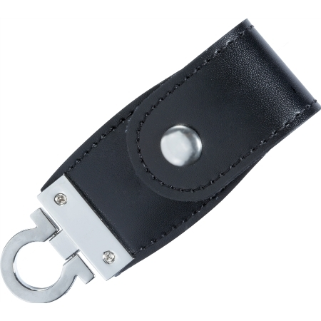 Porte Clé USB Cuir USBCUIRCR USB Express - Porte clé usb